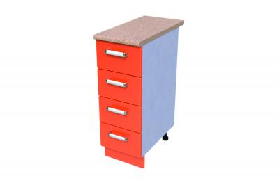 Кухонный стол КС - 06 (4 ящика)