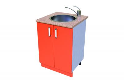 Кухонный стол КС - 23 (мойка)