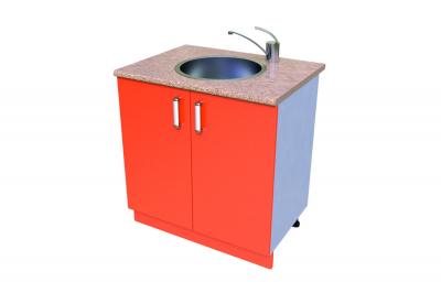 Кухонный стол КС - 28 (мойка)