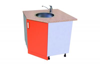 Кухонный стол КС - 29 (мойка уголовая)