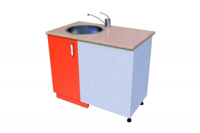 Кухонный стол КС - 31 (мойка прямая)