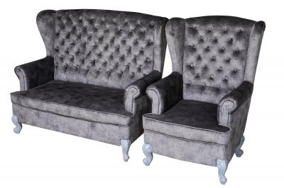 Кресло и диван Виктория 4
