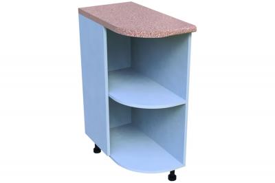 Кухонный стол КС - 02 (радиусный, открытый, правый)