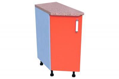 Кухонный стол КС - 02 (угловой, закрытый, правый)