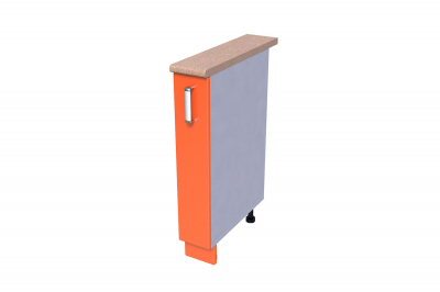 Кухонный стол КС - 03 150 (бутылочница)
