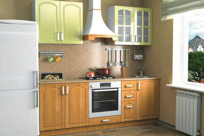 Кухня 13 (ольха, лимон)