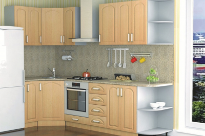Кухня 16 (венге светлый)